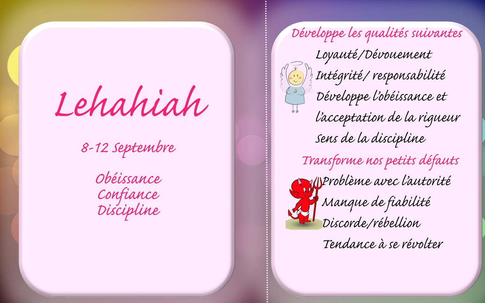 lehahiah