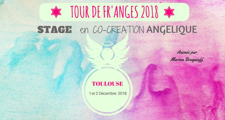 Stage en Co-Création Angélique-Toulouse 1 & 2 Décembre 2018