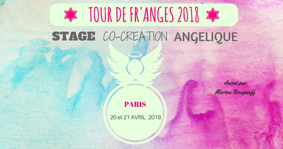 Stage en Co-Création Angélique- Paris 20 & 21 Avril 2018