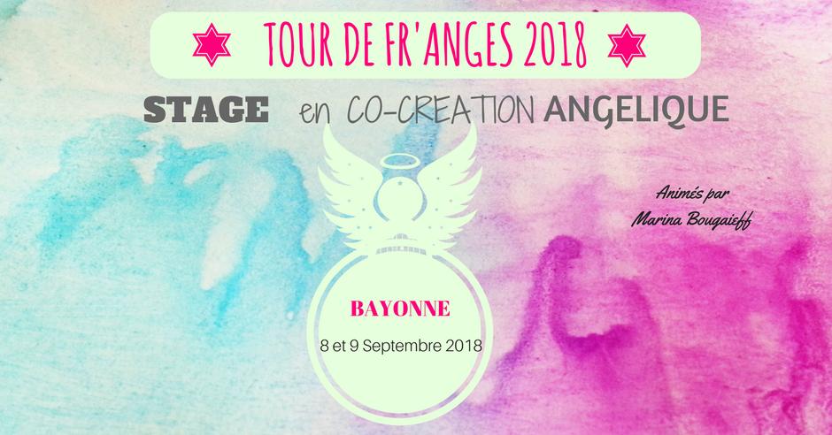 Stage en Co-Création Angélique- Bayonne 8 & 9 septembre 2018