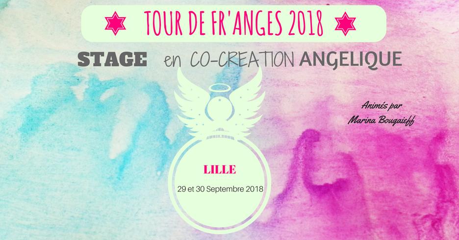 Stage en Co-Création Angélique-Lille 29 & 30 Septembre 2018