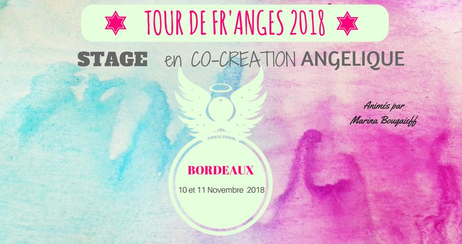 Stage en Co-Création Angélique-Bordeaux 10 & 11 Novembre 2018 (COMPLET)