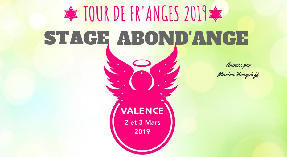 Stage Abond'Ange VALENCE – 2 & 3 Mars 2019